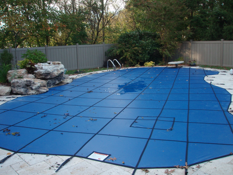 Decorative Pool Covers : Custom pool safety covers builder new jersey